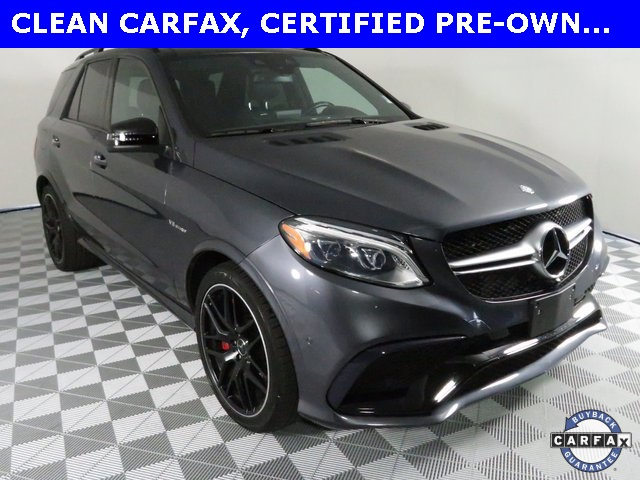 Certified Pre-Owned 2016 Mercedes-Benz GLE GLE 63 AMG®