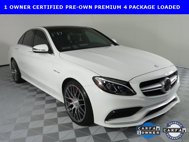 Certified Pre-Owned 2017 Mercedes-Benz AMG® 63 C 63 AMG®