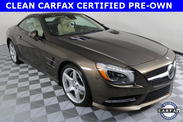 Certified Pre-Owned 2015 Mercedes-Benz SL-Class SL 400 Roadster
