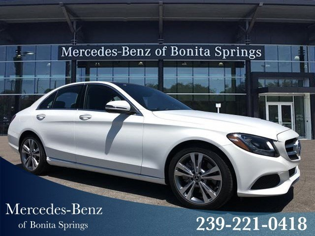 Pre-Owned 2018 Mercedes-Benz C 300 RWD SEDAN