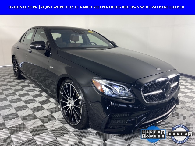 Certified Pre-Owned 2018 Mercedes-Benz E-Class E 43 AMG®