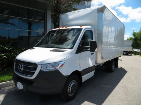 New 2019 Mercedes-Benz Sprinter 3500 Cab Chassis 144 WB